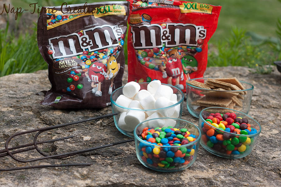 M and M Stuffed Smores #ShareFunshine #CollectiveBias 4