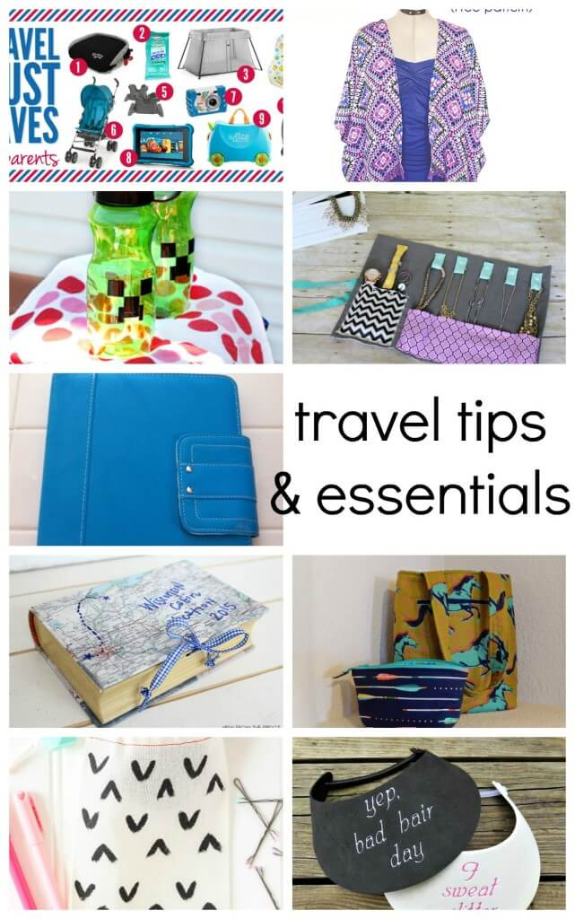 Summer travel tips and essentials from Nap-Time Creations