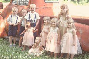 Handmade Wedding Clothes for Kids