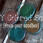 color your own sand for art