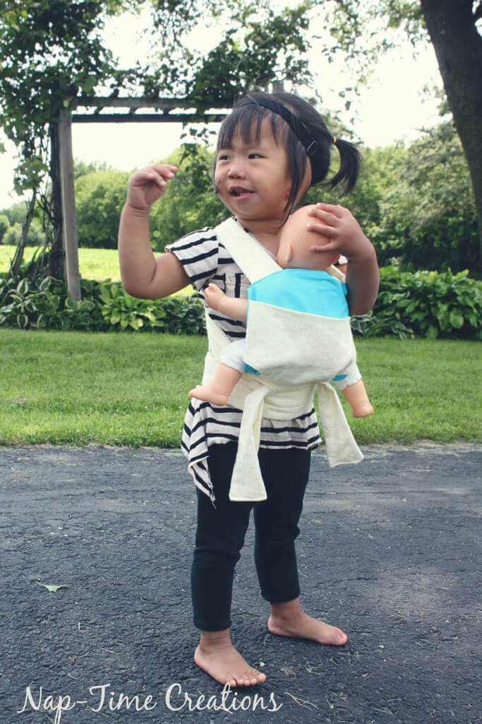Baby Doll Carrier Free Pattern and Tutorial