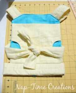 doll carrier free pattern and tutorial