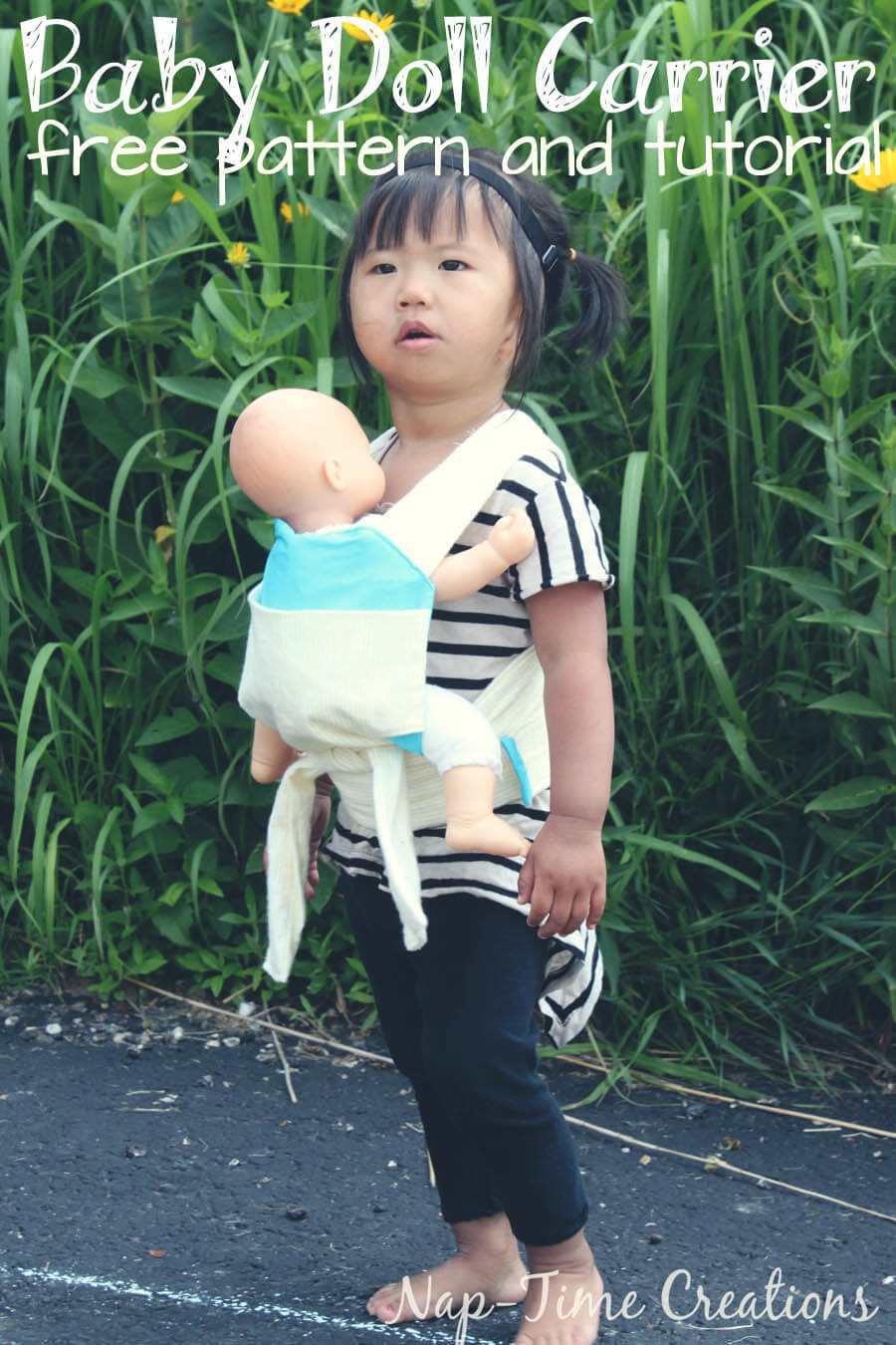 Doll Carrier Free Pattern And Tutrorial