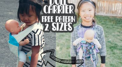 free doll carrier pattern