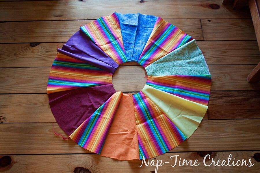 paneled circle skirt tutorial 10