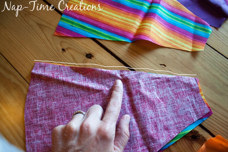paneled circle skirt tutorial 11