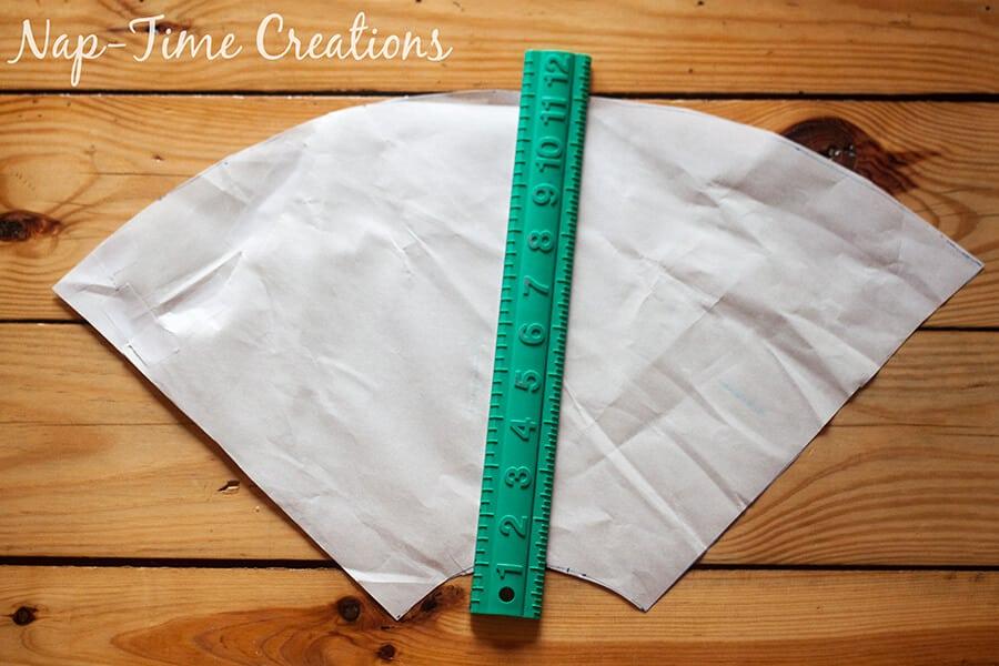 paneled circle skirt tutorial 15