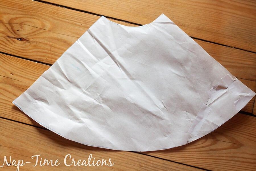 paneled circle skirt tutorial 17