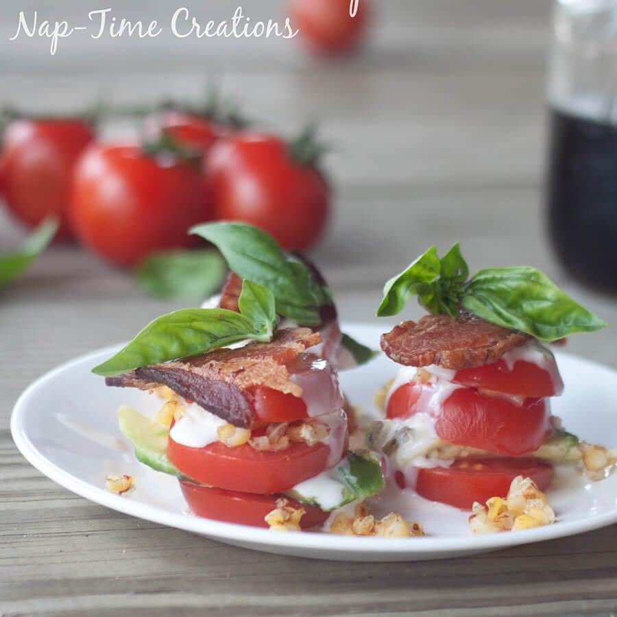 tomato salad stack 11