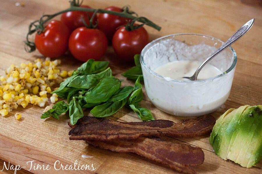 tomato salad stack 3