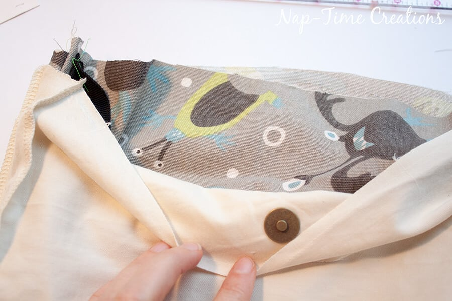 Boys Messenger Bag free pattern and tutorial from Nap-Time Creations 15