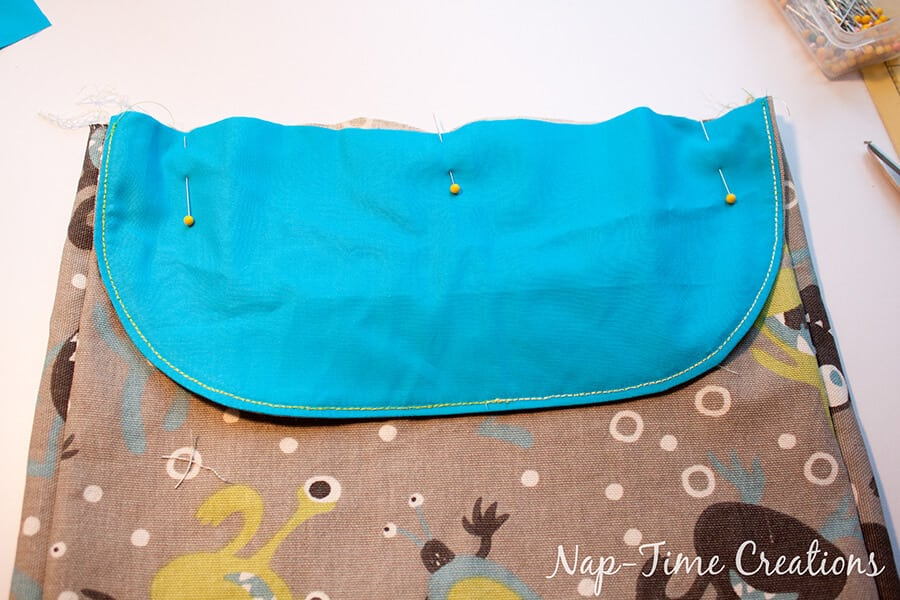 Boys Messenger Bag free pattern and tutorial from Nap-Time Creations 6