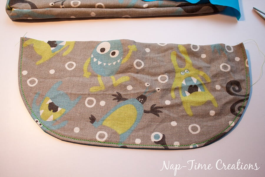 Boys Messenger Bag free pattern and tutorial from Nap-Time Creations 7