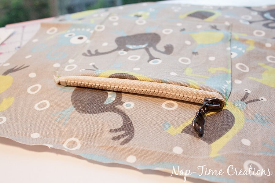 Boys Messenger Bag free pattern and tutorial from Nap-Time Creations 9