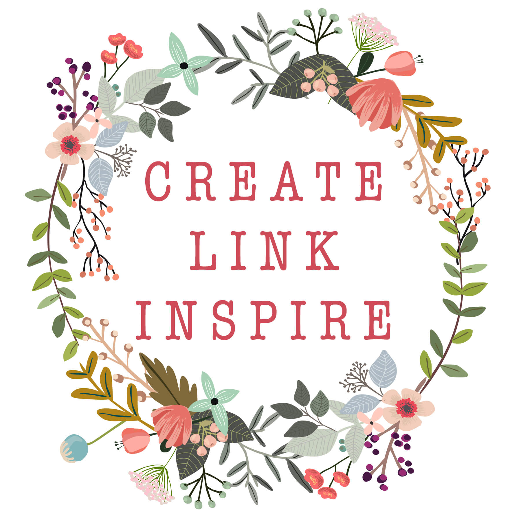 Create Link Inspire Party and Ornament Week!