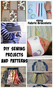 6 DIY Sewing Projects and Create Link Inspire Party