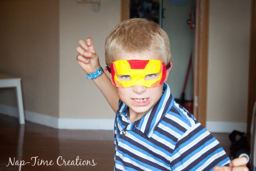 Felt Superhero Masks 2