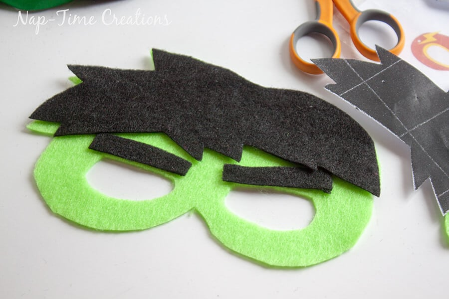 Felt Superhero Masks 5