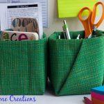 Moms Back to School – Fabric Covered Kleenex Box