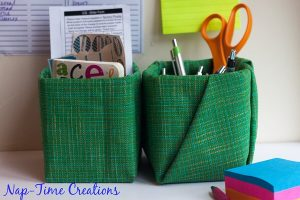 Moms Back to School – Fabric Covered Kleenex Box