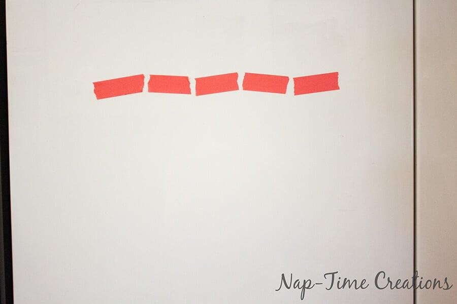 Simple Tape Weekly Organizer 7