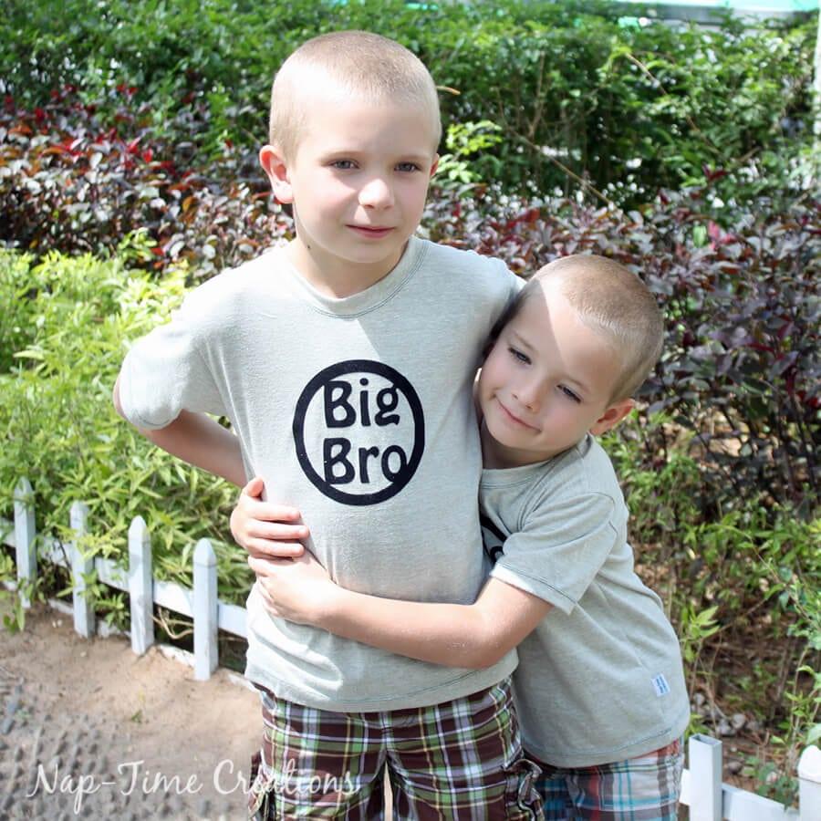 Boys Summer T-Shirt free pattern