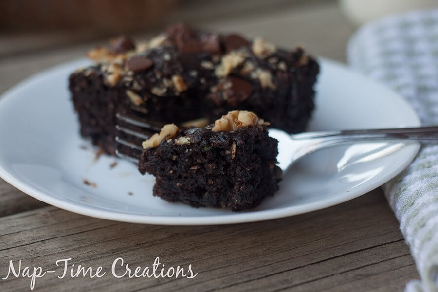 dark chocolate zucchini cake 1