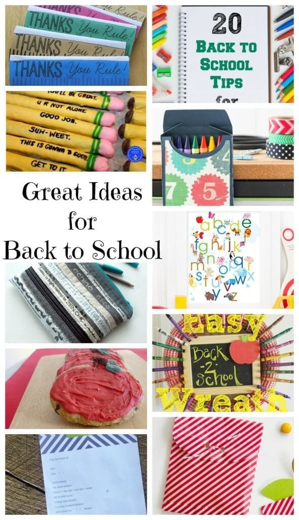 great ideas for back to school