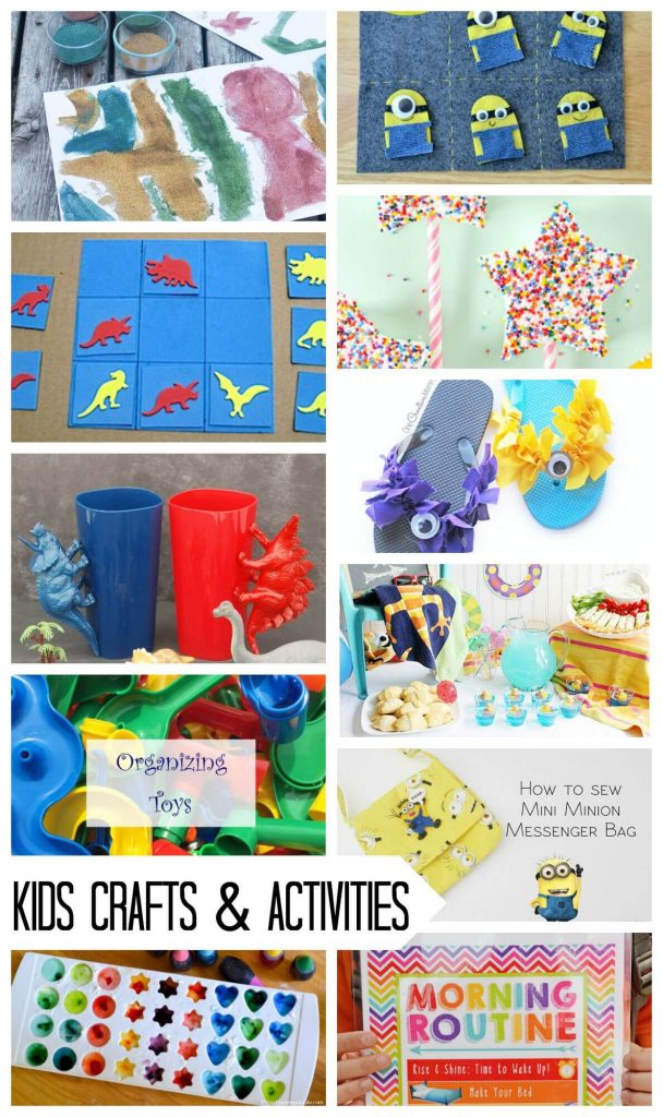 kids crafts and activies