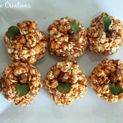 Better for You Fall Popcorn Balls