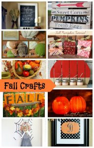 10 Fall Crafts and Create Link Inspire Party