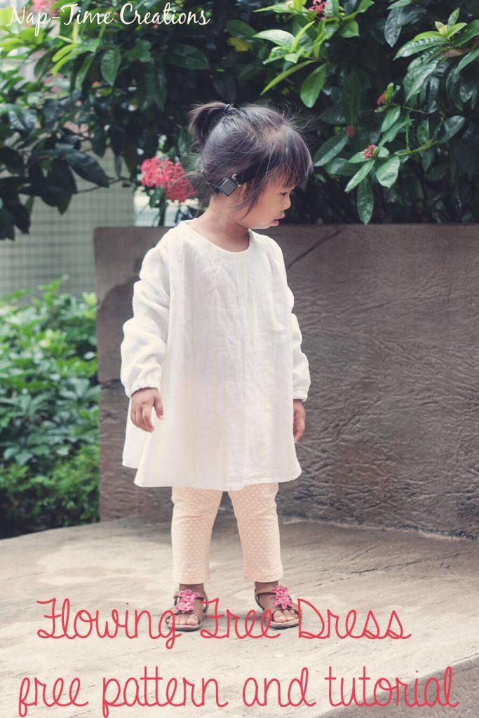 flowing dress free pattern 7