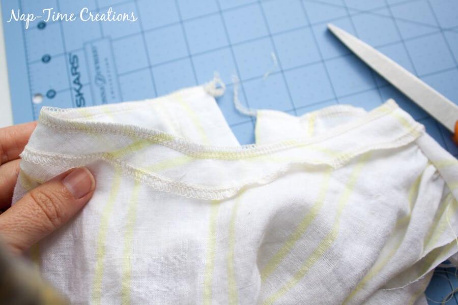 flowing dress tutorial 2