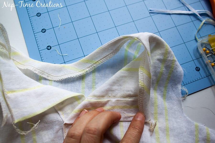 flowing dress tutorial 3
