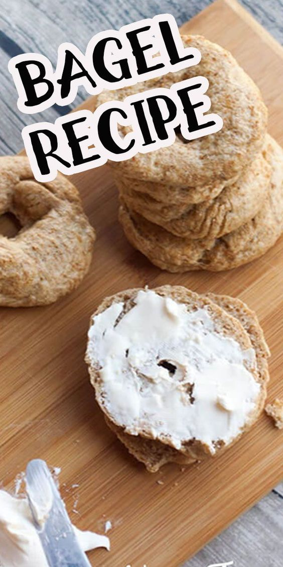 homemade bagels are the best!! This bagel recipe is a healthy take on a family favorite.
