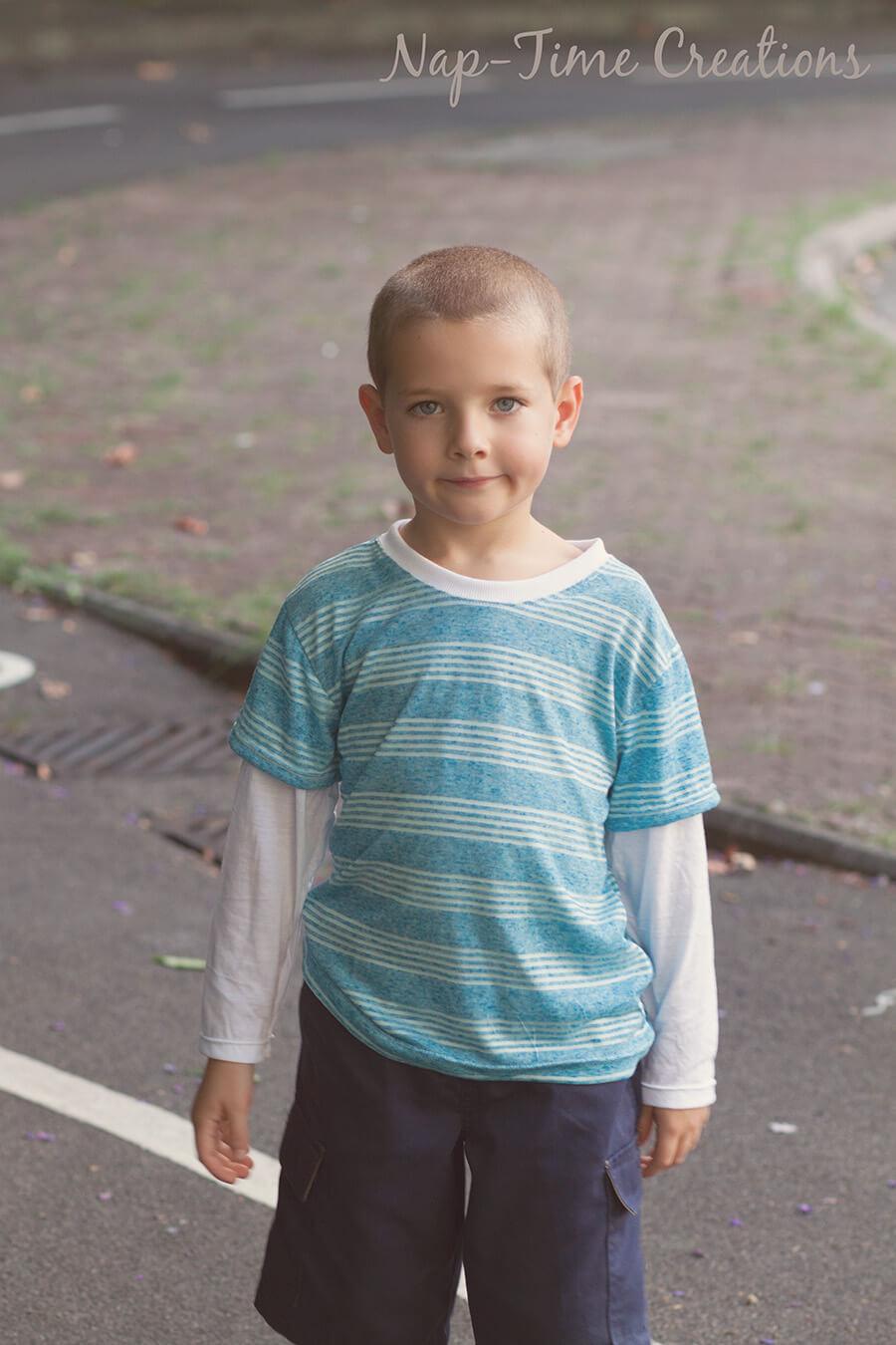 Boys Long Sleeve T Shirt Free Pattern Life Sew Savory
