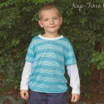 Boys Long Sleeve T-Shirt Free Pattern