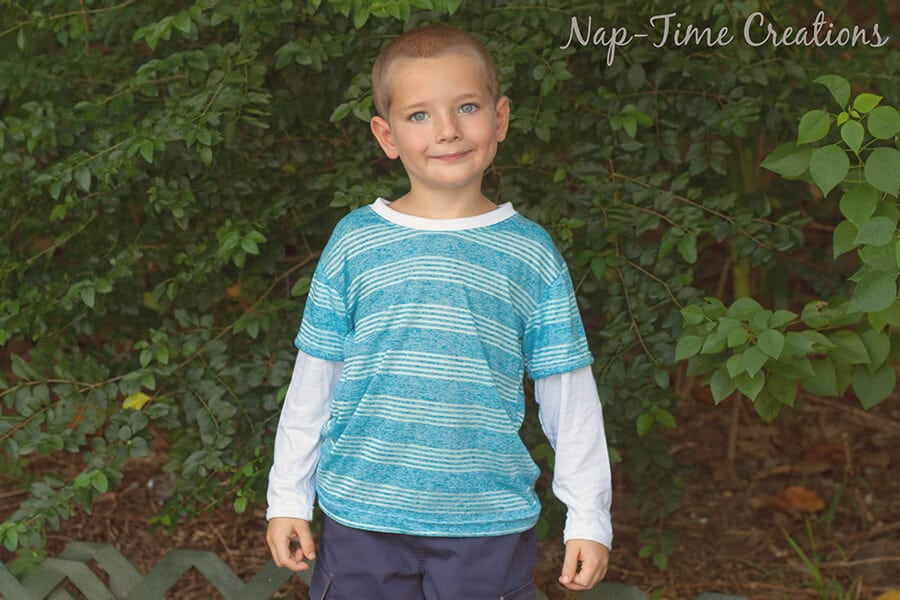 long sleeve t-shirt free pattern 12