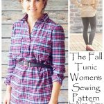 The Women's Fall Tunic – PDF Pattern release