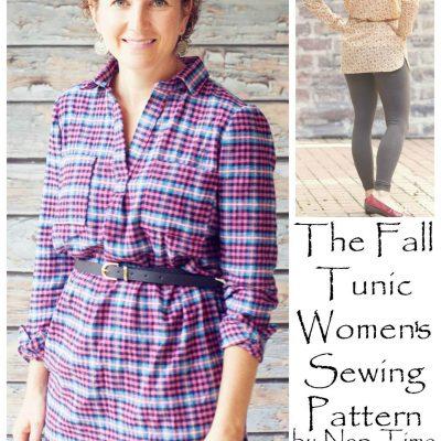 The Women's Fall Tunic – PDF Pattern release