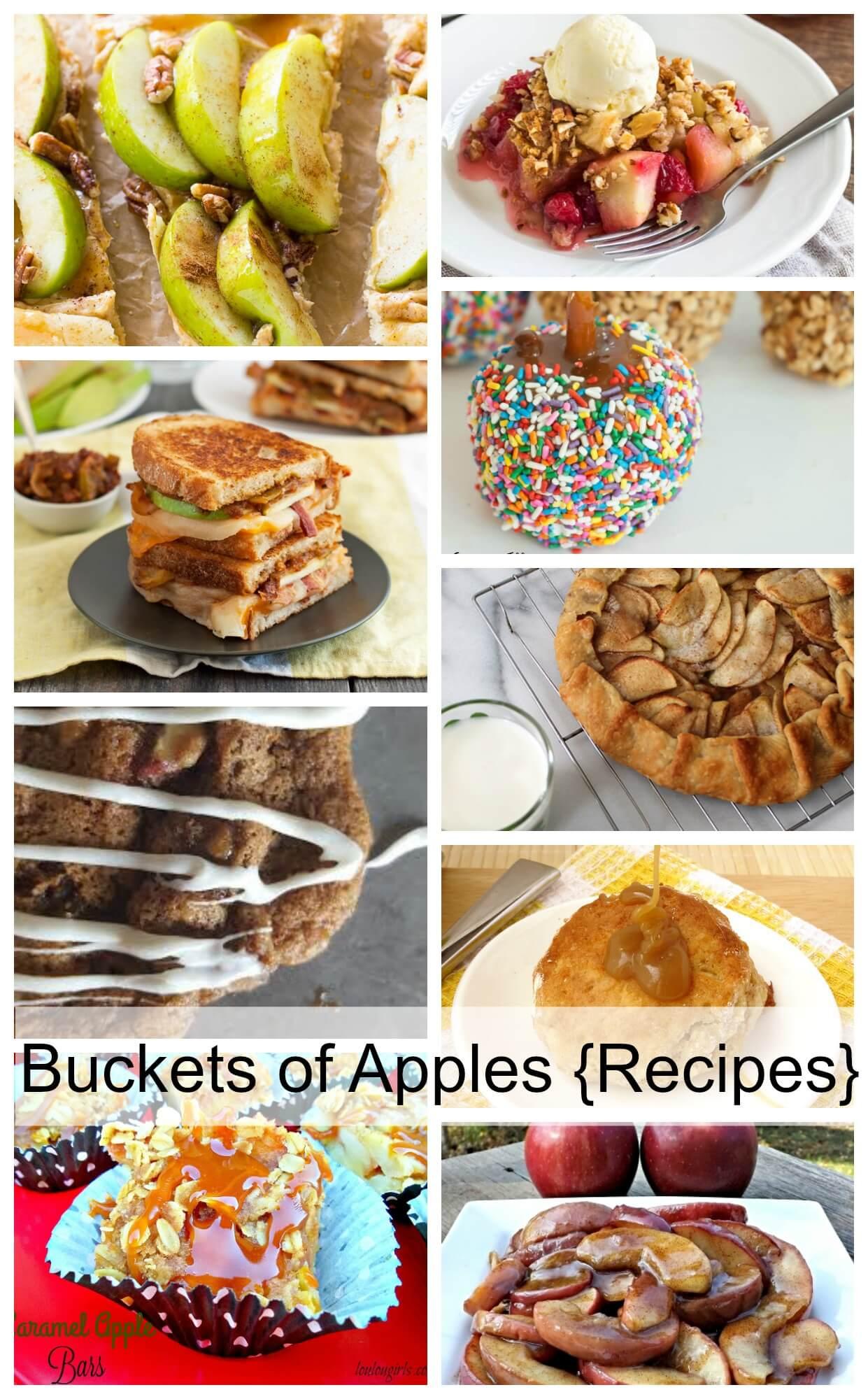 10+ Delicious Apple Recipes
