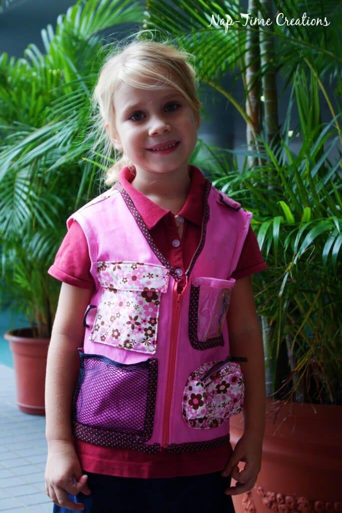 Explorers vest free pattern 2