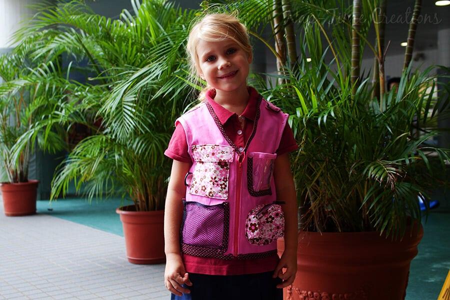 Explorers vest free pattern 3