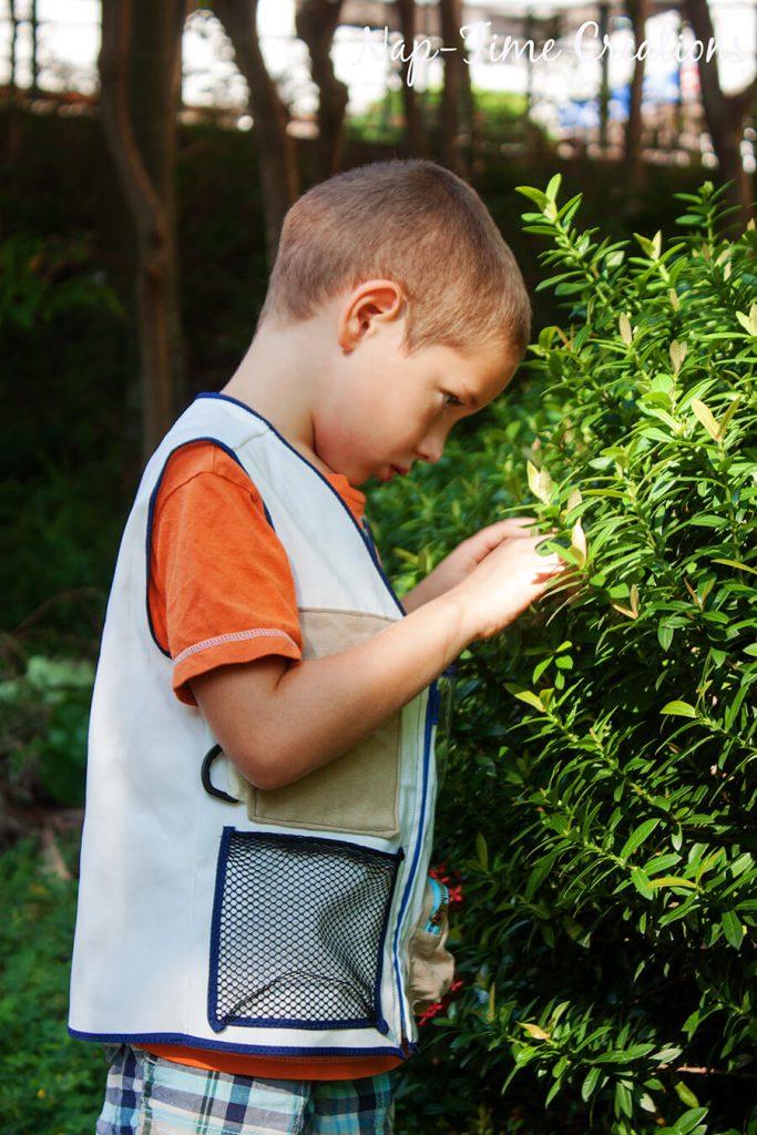 Explorers vest free pattern 5