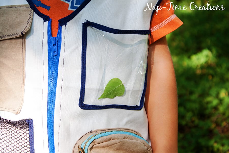 Explorers vest free pattern 6