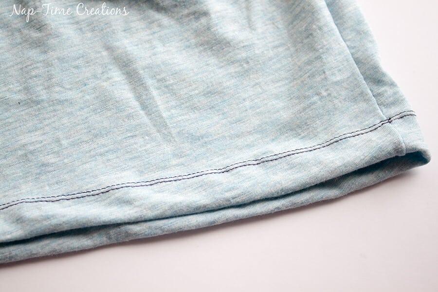 Girls Free T-Shirt Pattern Short-Long Sleeve tutorial