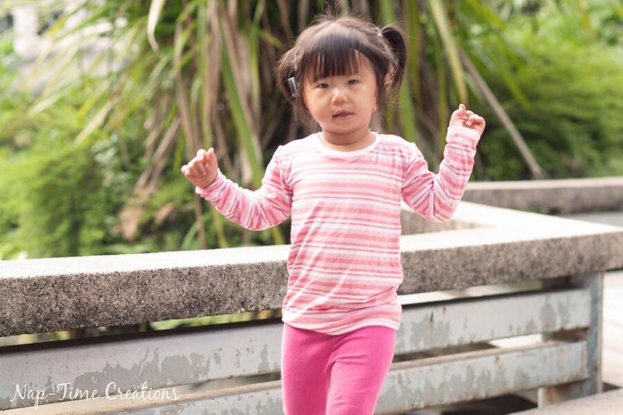Girls Free T-Shirt Pattern Short-Long Sleeve
