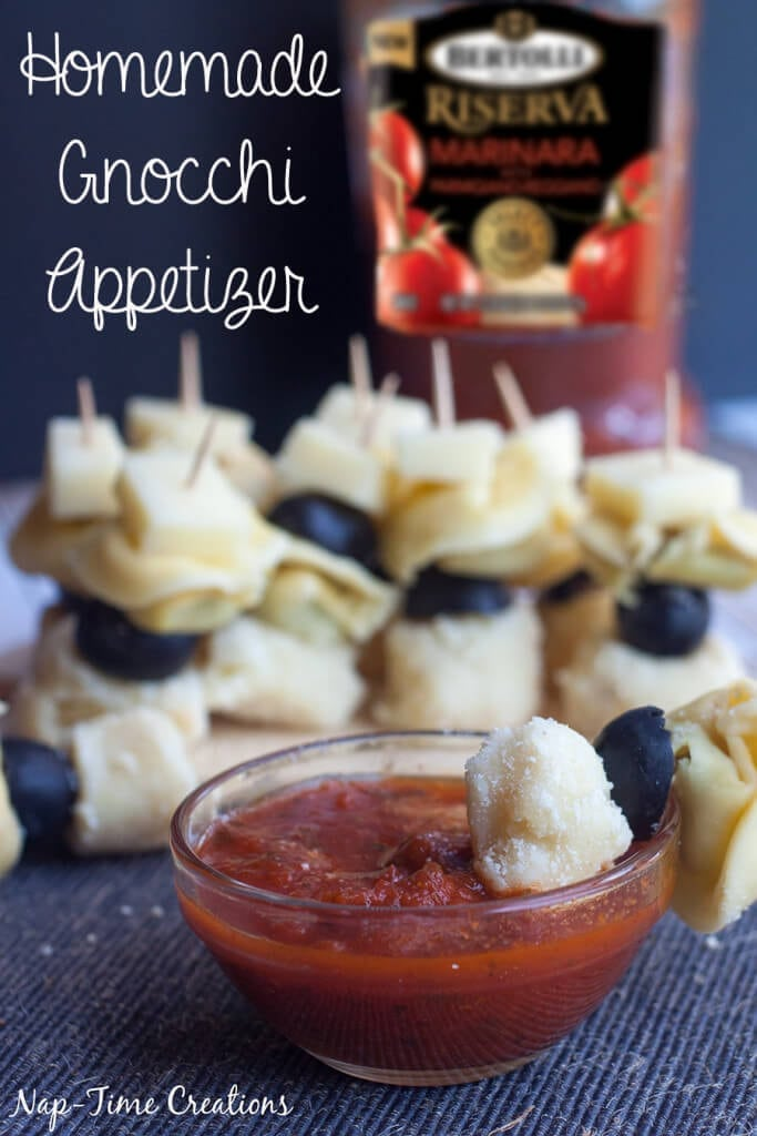 Homemade Gnocchi Appetizer from Nap-Time Creations