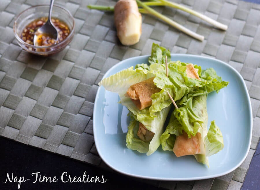Lettuce-wrapped-spring-rolls-2