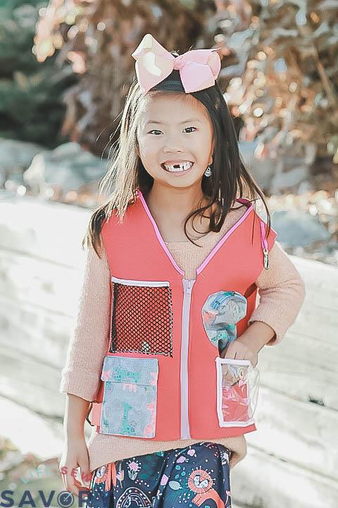 kids little explorer vest